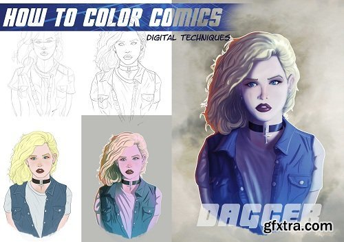 How To Color Comics - Digitally