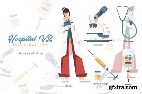 Hospital V2 - Illustrations