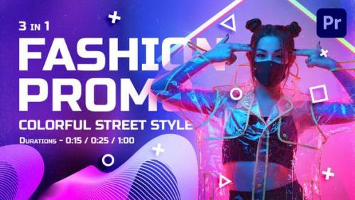Videohive - Colorful Street Style Fashion Promo   Mogrt