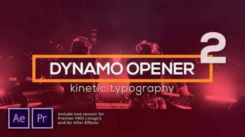 Videohive - Dynamic Typography Opener v2