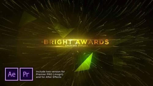 Videohive - Bright and Shine Awards Titles