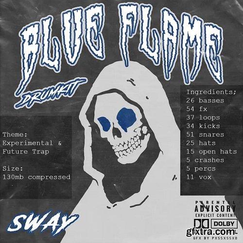 Sway55 Sway Blue Flame DRUMKIT
