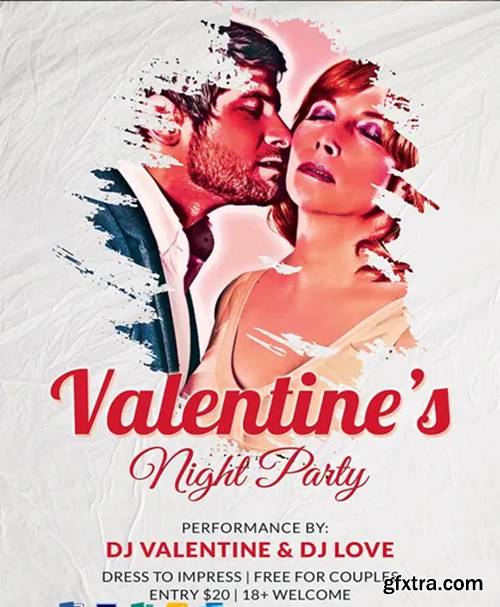 Free-Valentine-s-Night-Party-Poster