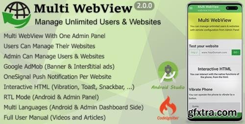 CodeCanyon - Multi WebView v2.0 + Admin Panel - 24203851