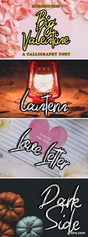 Big Valentine Font