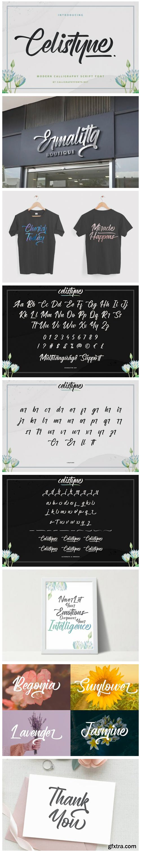 Celistyne Font