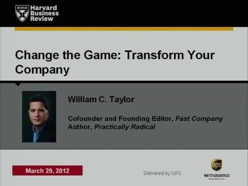 Oreilly - Change the Game, Transform Your Company - 2226821028001