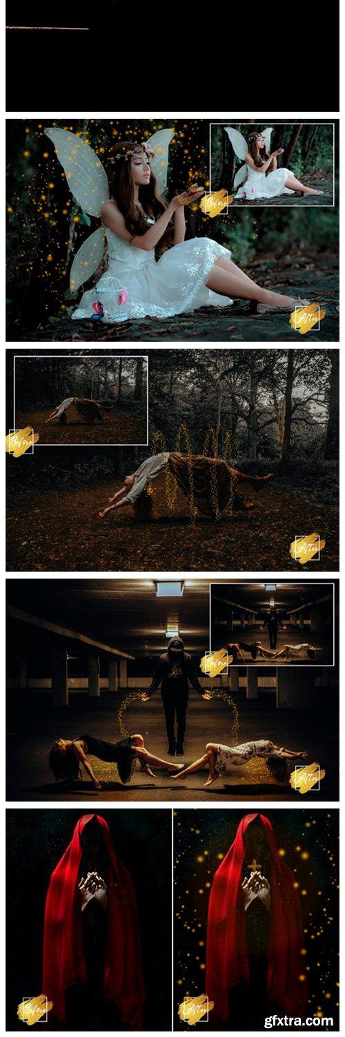 25 Dreamy Sparkle Overlays, Magical 7712154
