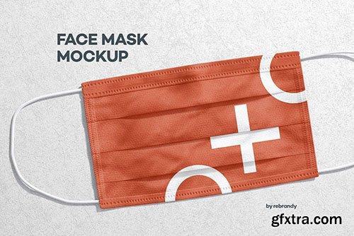 CreativeMarket - Face Mask Mockup 5783252