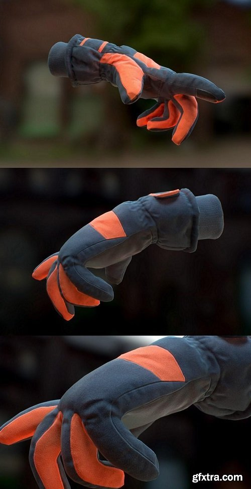 Scanned Gloves