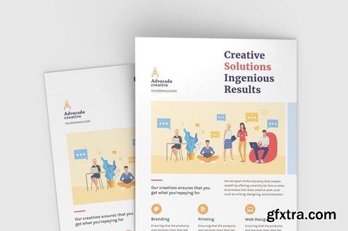 Creative Flyer - Mockup Template