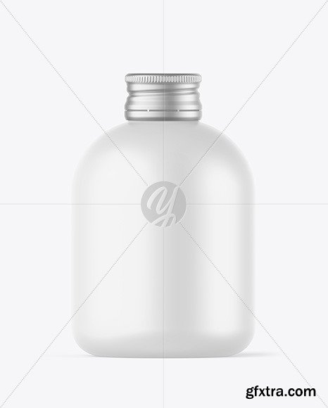 Matte Bottle w/ Metallic Cap Mockup 73074