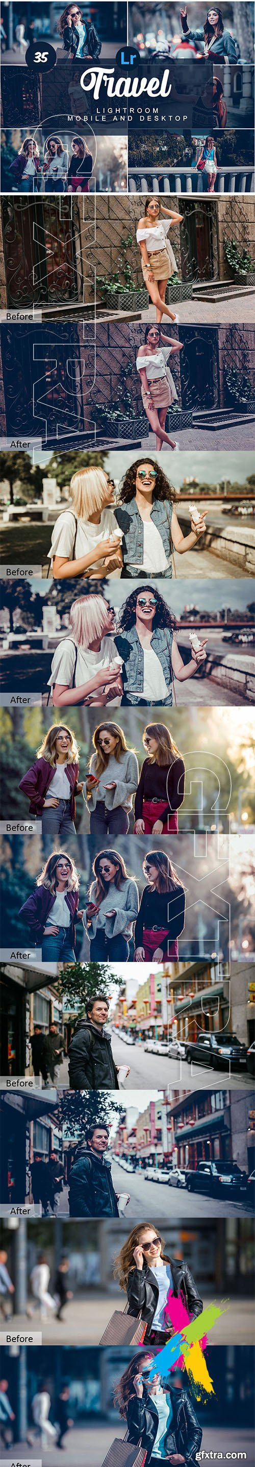 CreativeMarket - Travel Mobile and Desktop PRESETS 5736463