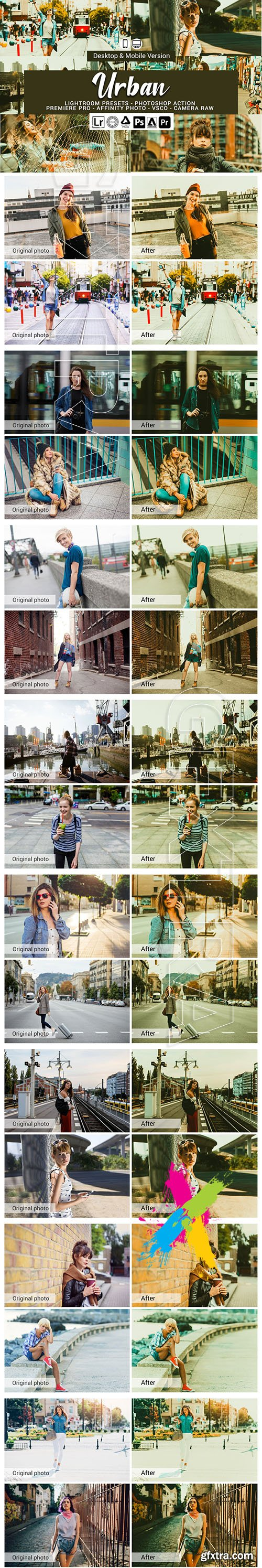 CreativeMarket - Urban Mobile and Desktop PRESETS 5736467
