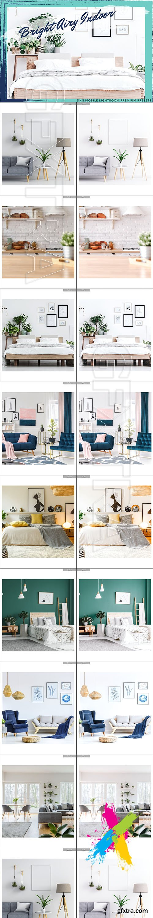 CreativeMarket - BRIGHT AIRY INDOOR LIGHTROOM PRESETS 5756082