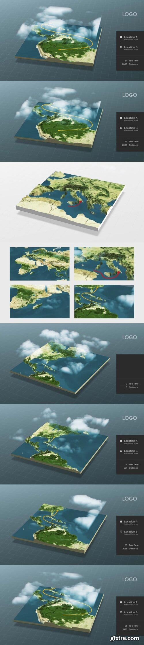Videohive - World Map Connector - 29504986