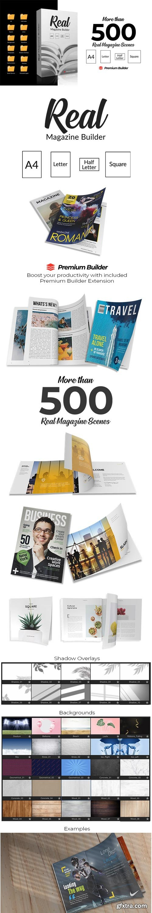 Videohive - Real Magazine Builder for Element 3D - 29703858