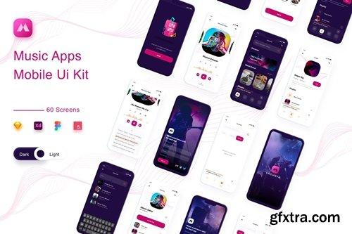 Lagunya - Music Streaming Apps UI KIT