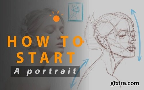 How to Start a Portrait Drawing: Basic Analysis of the Head