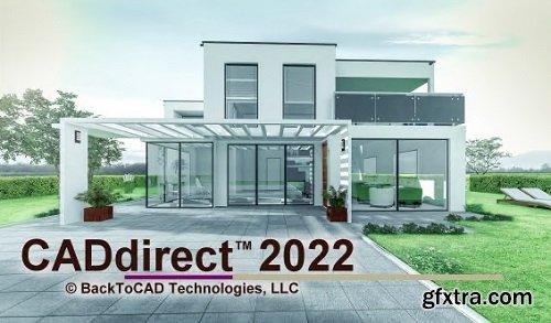 BackToCAD CADdirect 2022 v10.0j Multilingual Portable