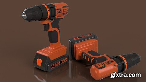 Fusion 360 Modeling Course - Power Drill