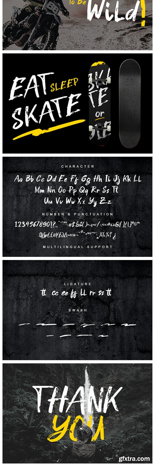 Gastrax Font