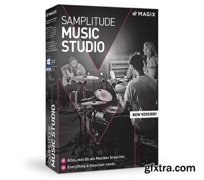 MAGIX Samplitude Music Studio 2021 v26.1.0.16