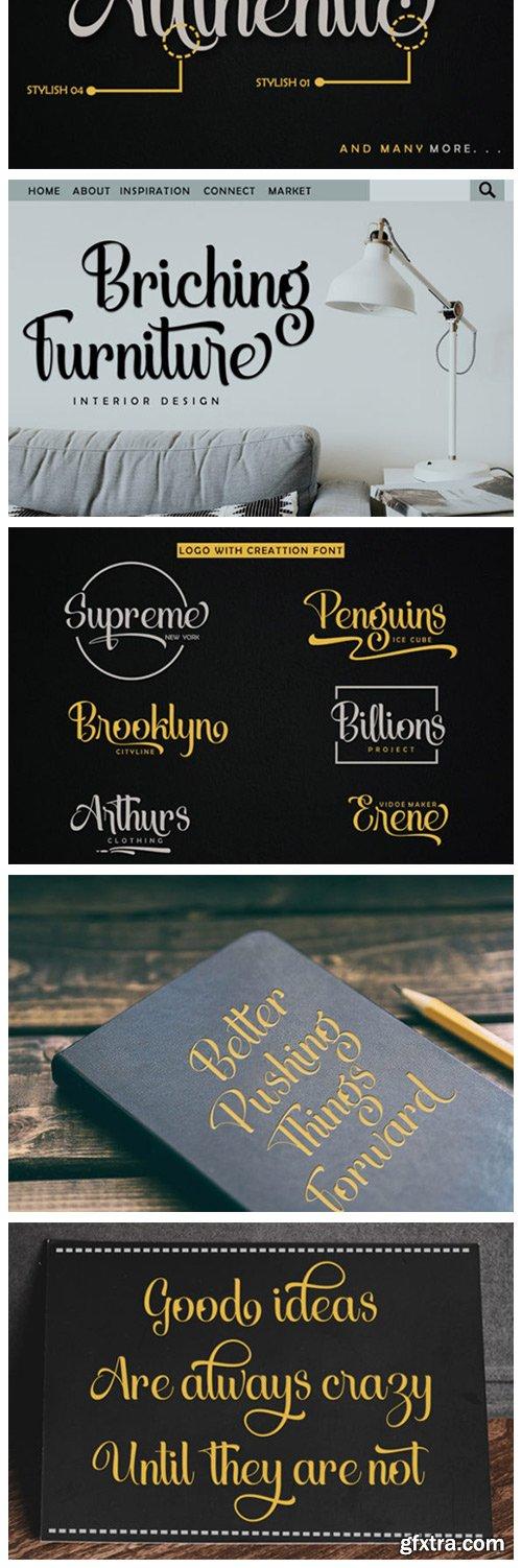 Creattion Font