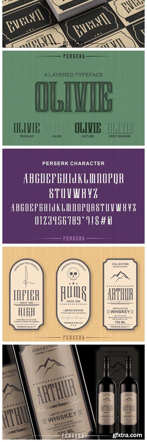 Perserk Font