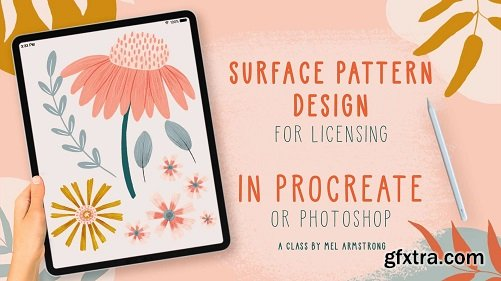 Surface Pattern Design for Licensing in Procreate (or Adobe Photoshop)