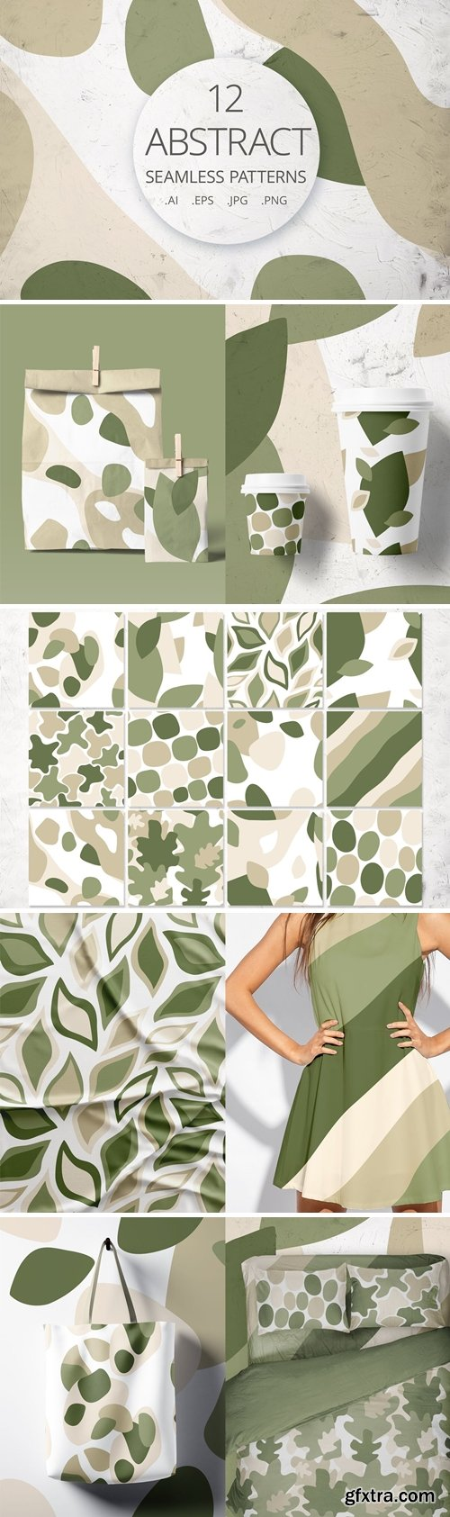 CreativeMarket - 12 abstract patterns 5089648