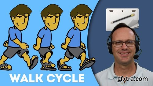 Animated Walk Cycles for Beginners (Rough Animator)