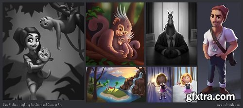 Lighting for Story and Concept Art with Sam Nielson