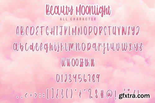 Beauty Moonlight - Cute Font