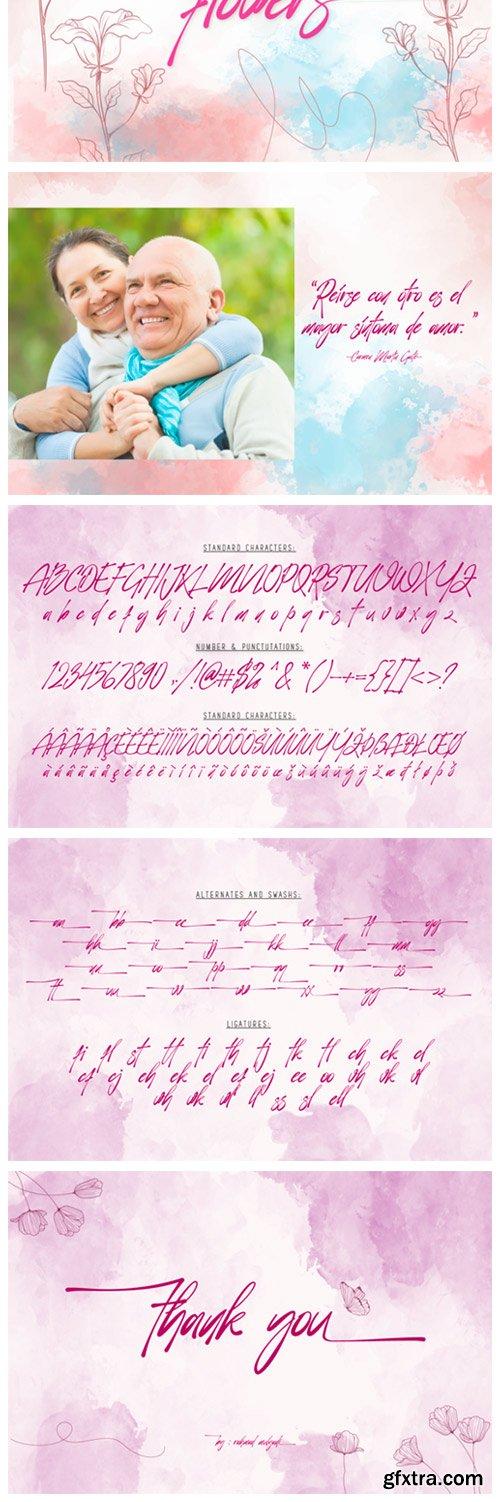 Vorticella Font