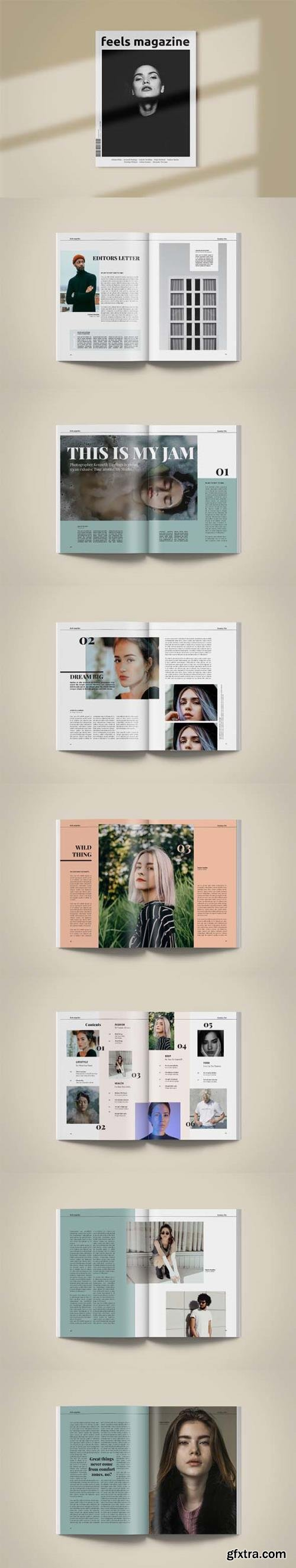 Magazine Template   Feels