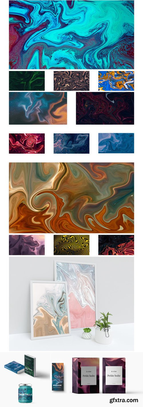 50 Swirl Textures Pack