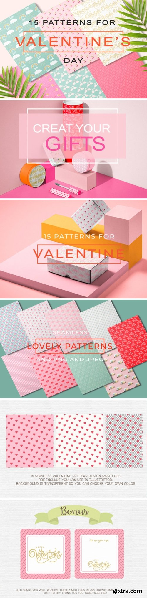 Lovely Valentine\'s Day Pattern 7882368
