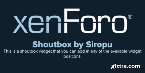 Shoutbox by Siropu v1.5.7 - XenForo 2.x Add-On