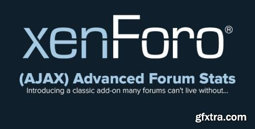 AddonFlare - (AJAX) Advanced Forum Stats v1.7.0 - XenForo 2.x Add-Ons