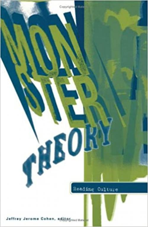 Monster Theory: Reading Culture
