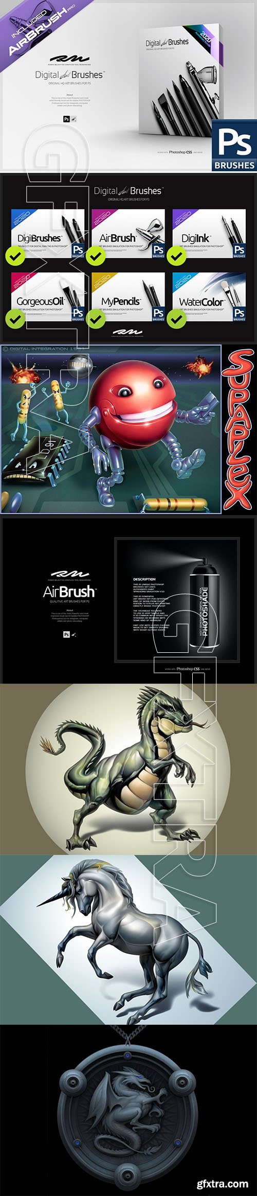 CreativeMarket - RM Digital Art Brushes EE for PS 5567663