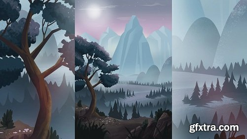 Create Stylized Landscapes for Animation