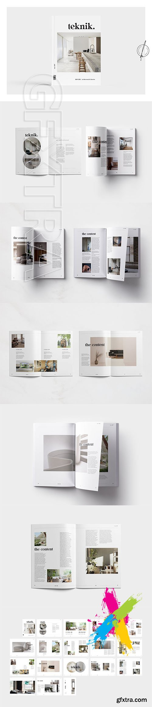 Teknik Interior Magazine