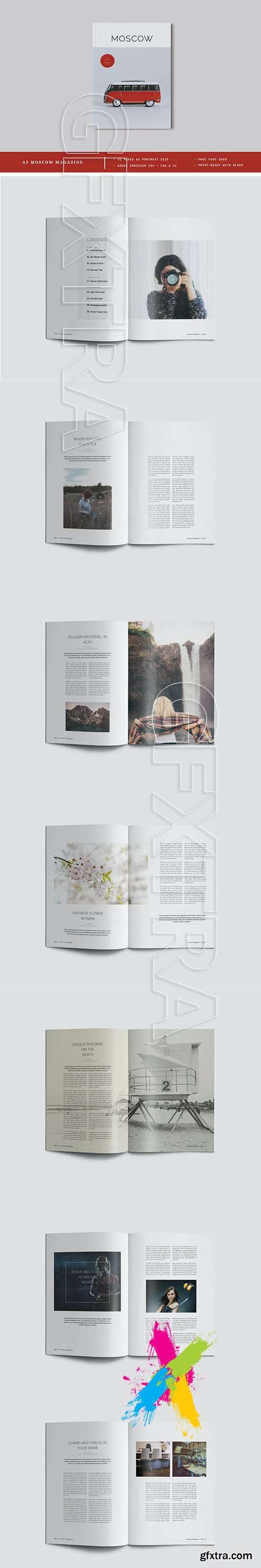 A5 Moscow Magazine