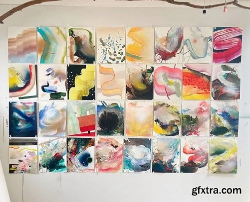 Mixed Media: A Beginners Approach To Abstract Painting