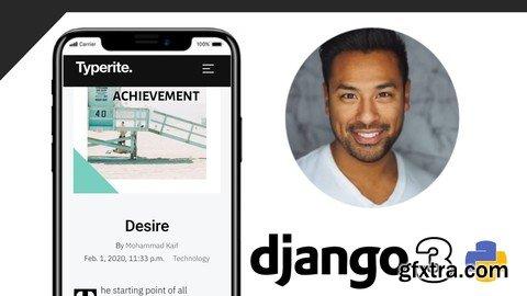 Build Full Stack Django 3 Blog app and REST API With Python
