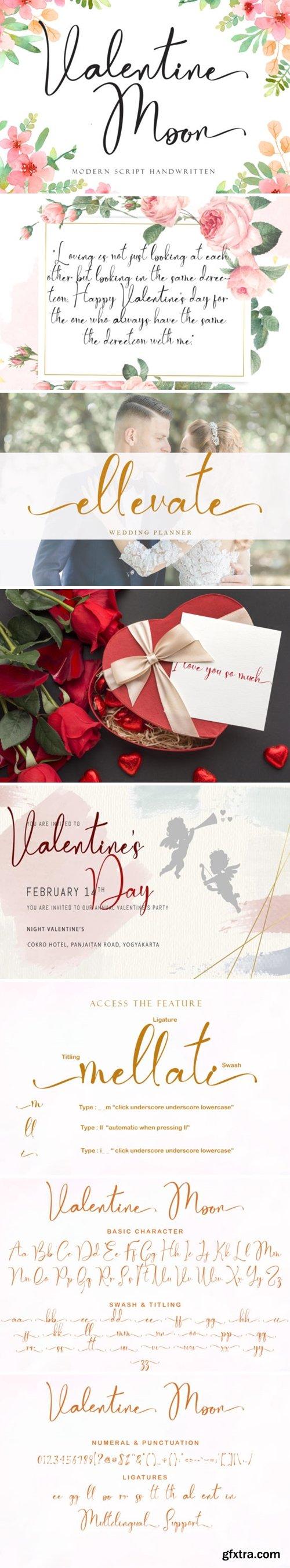 Valentine Moon Font