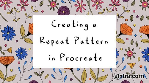 Creating a Repeat Pattern in Procreate