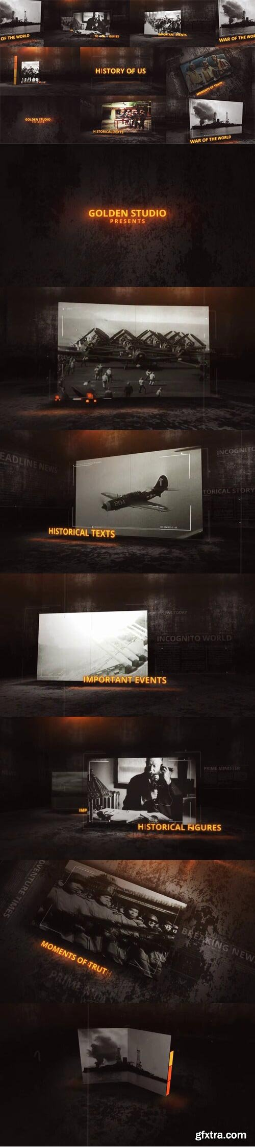 Videohive - Glitches History Of Us - 26740127